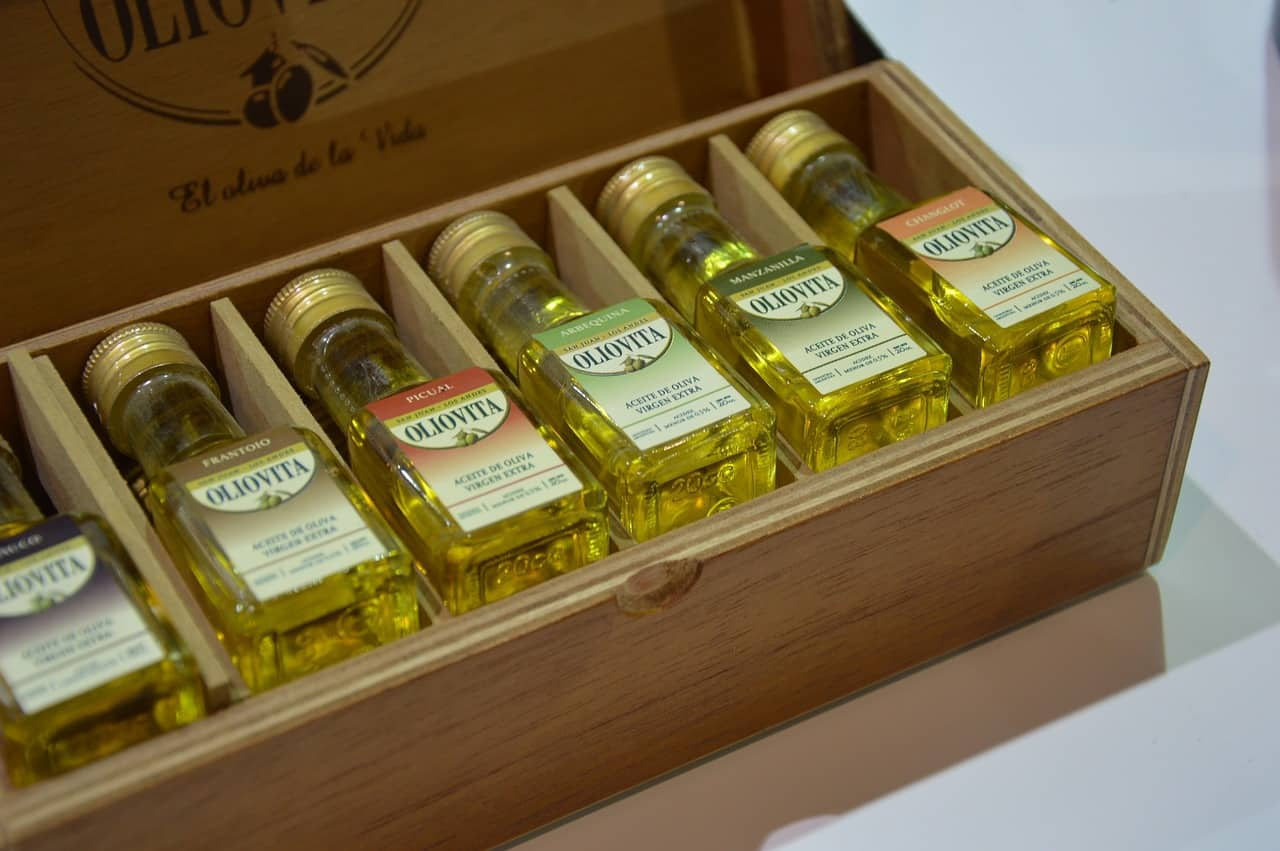Collection of olive oil