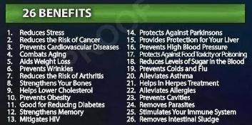 26 benefits