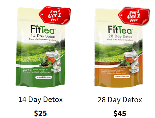 Fit Tea Pricing