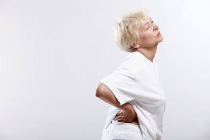 Older Woman with Back Pain