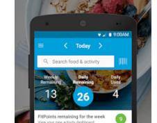 Weight Watchers app