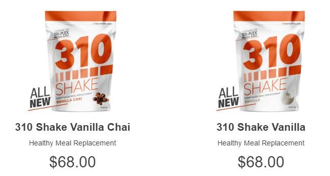 Shake pricing