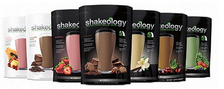 Shakeology selection