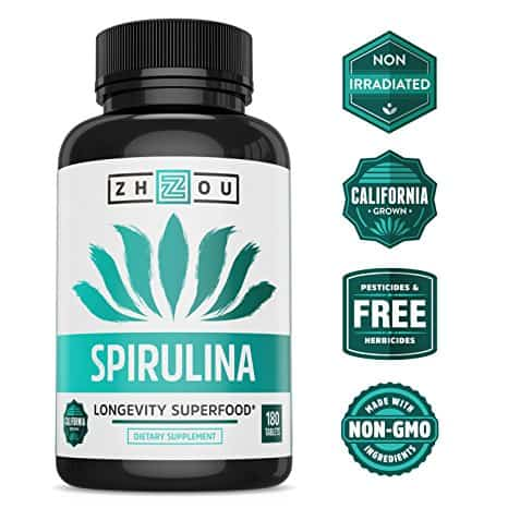 Zhzou Spirulina Supplements
