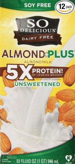 So Delicious Aseptic Plus Protein Almond Milk