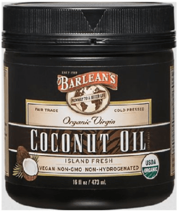 Barlean Organic Virgin Coconut Oil