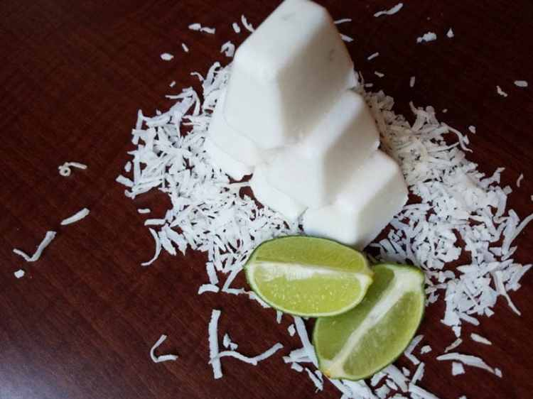 Coconut Lime Fat Bombs