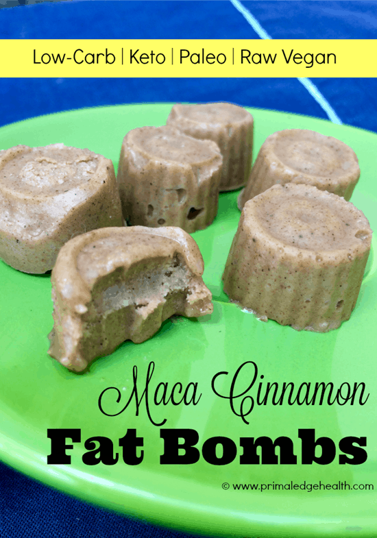 Maca Cinnamon Fat Bombs
