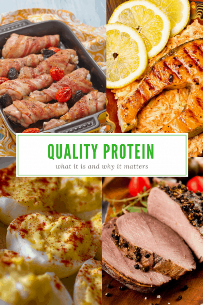 What is Quality Protein? Why Does It Matter?