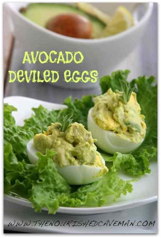 Avocado Deviled Eggs