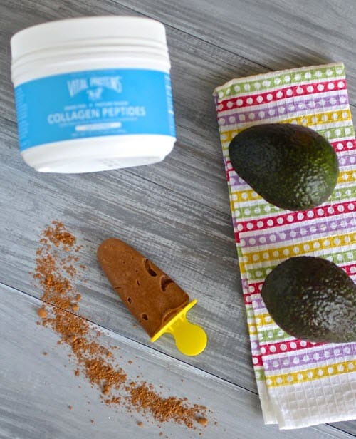 Healthy Chocolate Popsicle