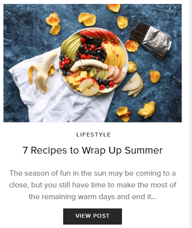 Recipes to Wrap Up Summer