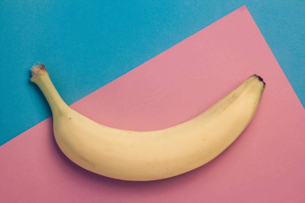 Minimalist banana