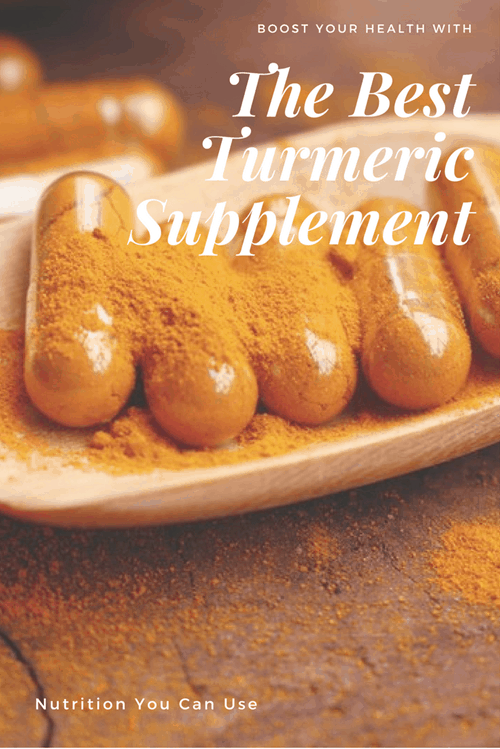 The Best Turmeric Supplement