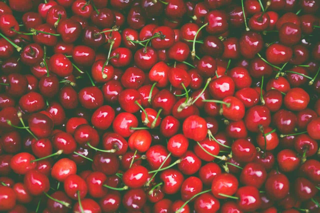 Collection of cherries