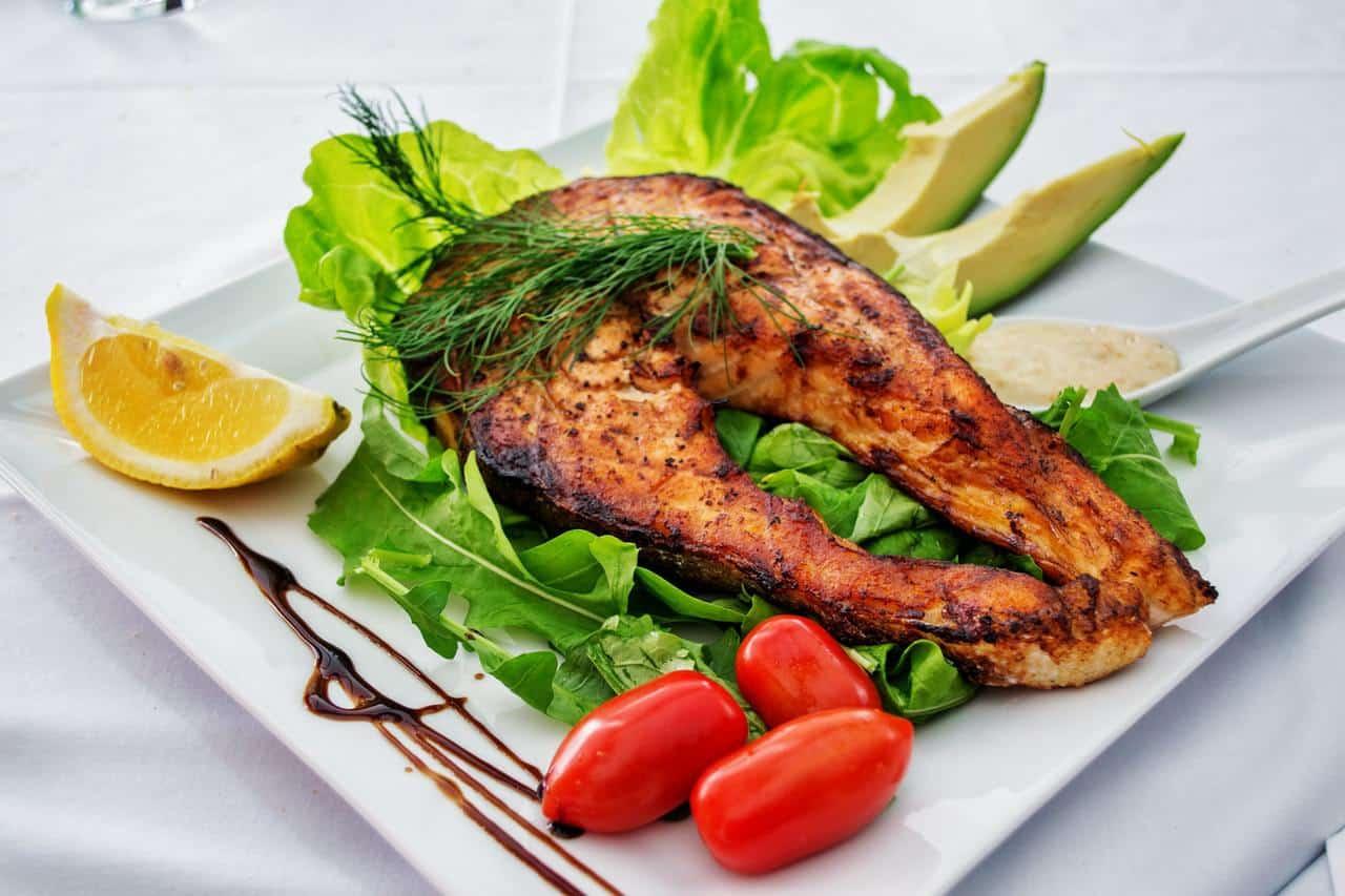 Low Carb Salmon Dinner