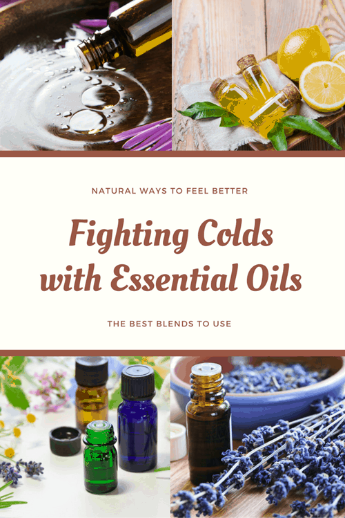 Fighting Colds with Essential Oils