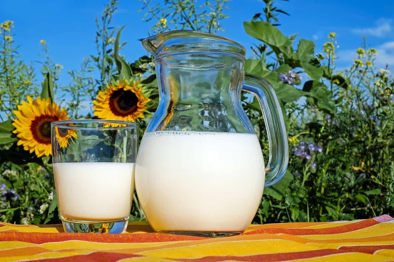 Milk outside