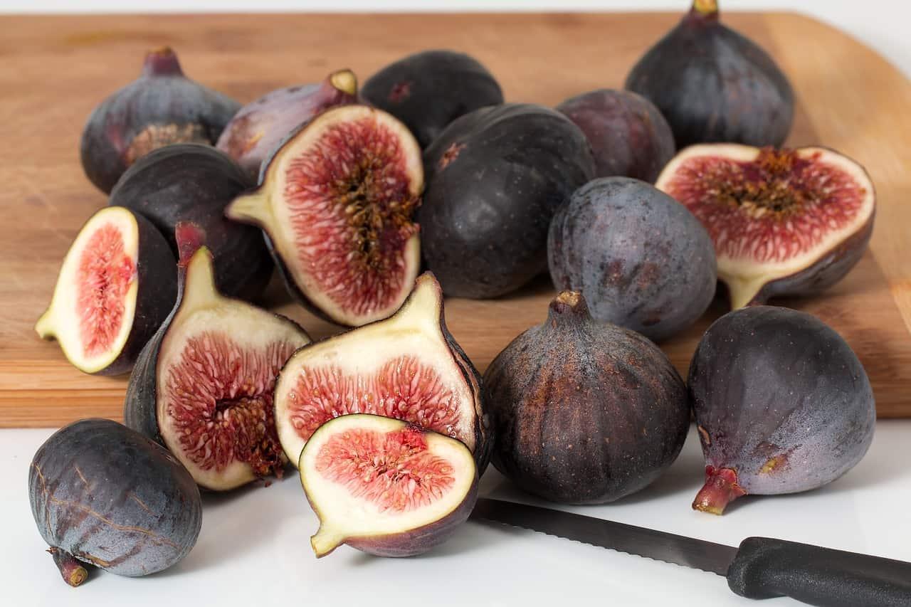 Figs on a board