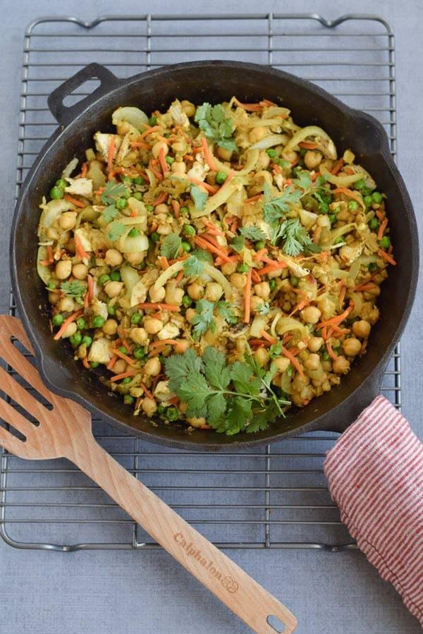 Indian Cauliflower Rice