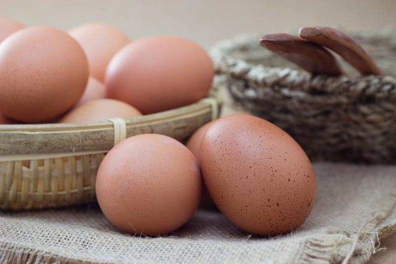 Eggs per day
