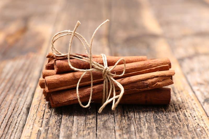 Rolls of cinnamon