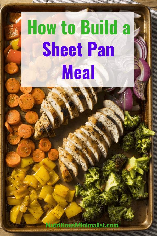 build a sheet pan meal