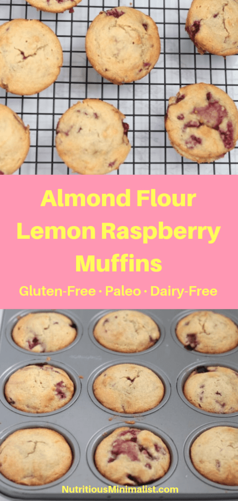 lemon raspberry muffins pin