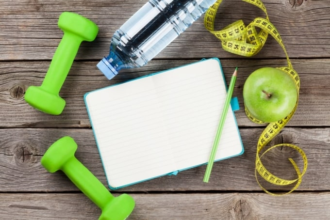 write down healthy habit