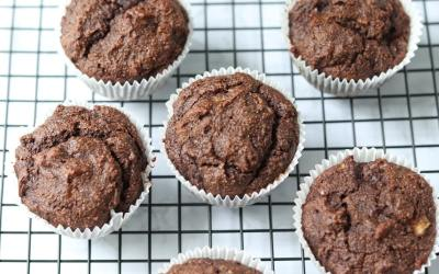 Almond Flour Chocolate Muffins