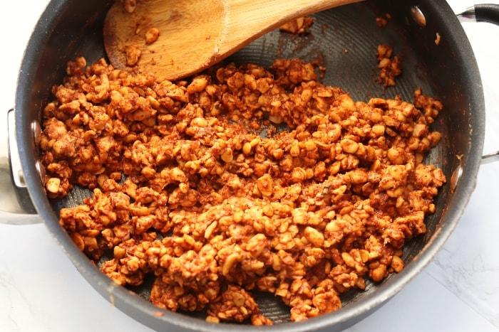 tempeh mixture