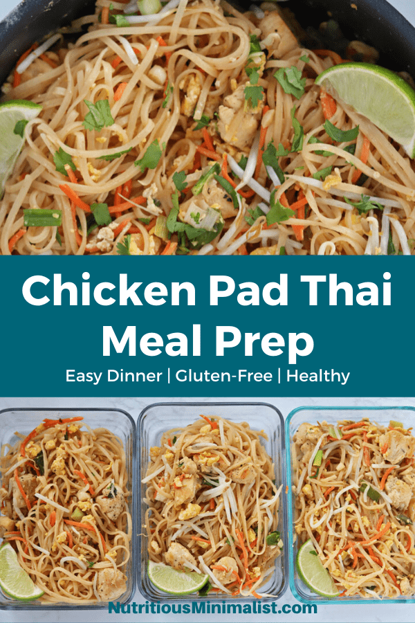 chicken pad thai pin