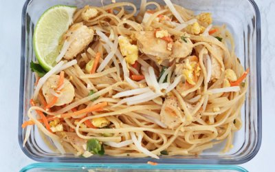 Low FODMAP Chicken Pad Thai