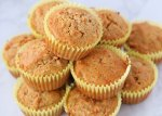 almond flour carrot cake muffins