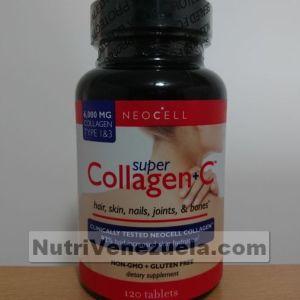 Colageno Venezuela. SUper Colageno Con Vitamina C. Neocell