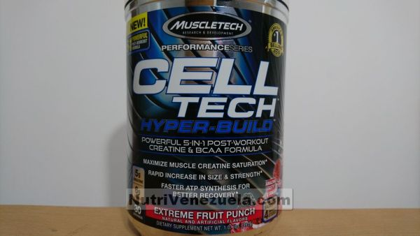 Celltech Hyper Build Creatina Venezuela Muscletech