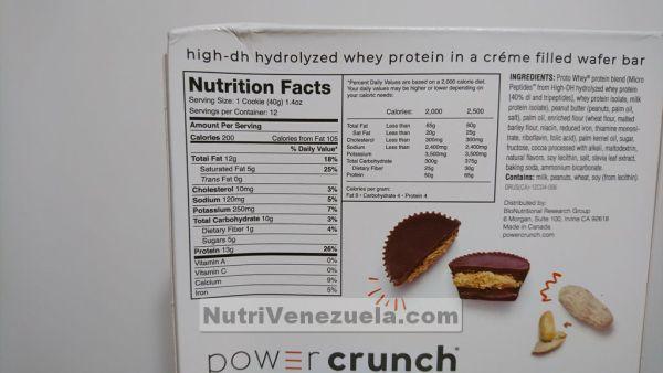 Power Crunch Barras De Proteina Venezuela.