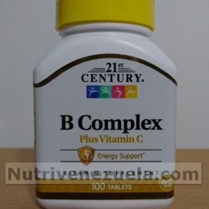 complejo b con vitamina c