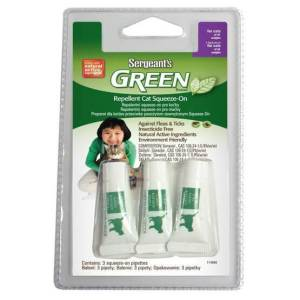 Green Brand Repellent Dog Squeeze-On for Cats