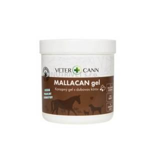 Mallacan gél s kanabisom a dubovou kôrou 250 ml