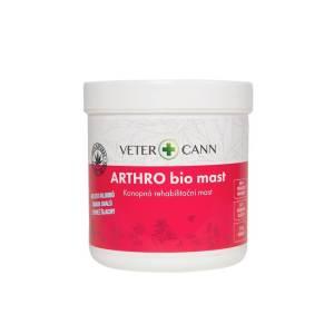 Vetercann Arthro Bio konopná rehabilitačná masť 250 ml