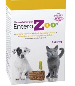Entero ZOO detoxikační gel 15×10