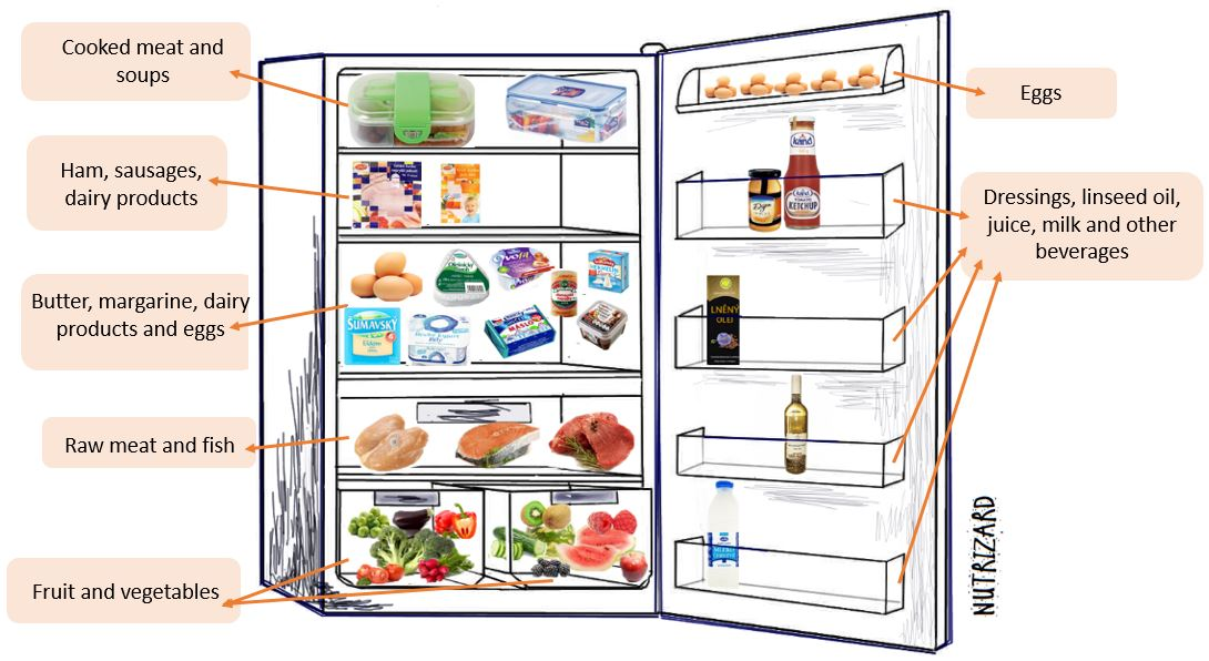 HOW TO ORGANIZE YOUR REFRIGERATOR WITH FOOD?