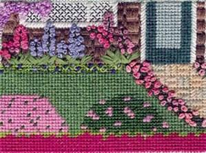 Napa Valley Garden needlepoint