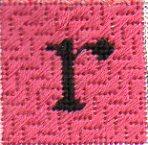 "Come Stitch with Me! – Celebrate Sampler ""R"""