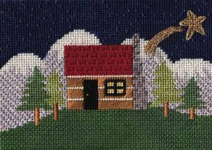 Skies in Needlepoint