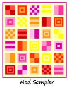 Mod Quilt Sampler – Part 1