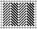 Alternating Diagonal Gobelin