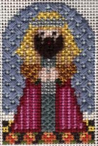 needledeeva nativity needlepoint stitch guide by Janet Perry