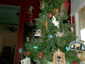 Jesus Christmas tree
